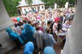 Престольный праздник в храме в честь иконы Божией Матери «Всех скорбящих Радость» (с грошиками) города Сургута.