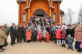 17 апреля. Великое освящение храма прп. Евфимия Великого, п. Шапша Ханты-Мансийский район