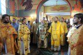 9 октября. Божественая Литургия в храме в честь вмч. Екатерины, г. Рим