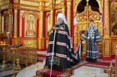 19 апреля. Общее говение духовенства епархии, Воскресенский собор г. Ханты-Мансийск