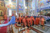 9 мая. Заупокойная лития по погибшим воинам в Великой Отечественной Войне, Воскресенский собор г. Ханты-Мансийск