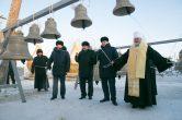 16 декабря. Освящение куполов, крестов и колоколов строящегося храма вмц. Татианы, г. Когалым