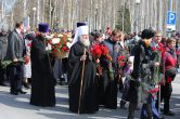 9 мая. Митрополит Павел принял участие в торжественных мероприятиях посвященных 71-й годовщине Великой Победы, г. Ханты-Мансийск