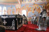 18 марта. Богослужение в Преображенском кафедральном соборе, г. Сургут