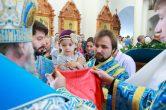 14 октября. Престольный праздник храма Покрова Пресвятой Богородицы, г. Ханты-Мансийск