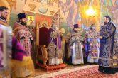 3 апреля. Божественная Литургия в храме в честь вмч. Георгия Победоносца, г. Сургут