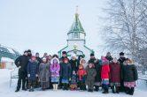 13 декабря. Архипастырский визит в с.п. Русскинская