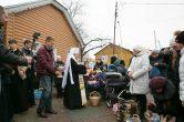 15 апреля. Традиционное посещение митрополитом Павлом храмов г. Ханты-Мансийска в Великую субботу.