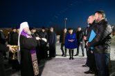 23 марта. Митрополит Павел благословил участников снегоходной арктической экспедиции «Северный десант».