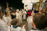16 апреля. Архипастырское служение в праздник Светлого Христова Воскресения, Воскресенский кафедральный собор г. Ханты-Мансийск.