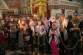 16 апреля. Встреча Благодатного огня, Воскресенский кафедральный собор г. Ханты-Мансийск.