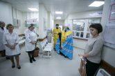 12 октября. Митрополит Павел освятил филиал Окружной клинической больницы г. Ханты-Мансийск.