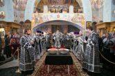 3 марта. Канон вмч. Феодору Тирону и благословение колива, Преображенский кафедральный собор, г. Сургут.