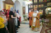 18 апреля. Архипастырский визит в п. Солнечный, Сургутского района.