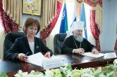 8 марта. Подписание Соглашения о взаимодействии и сотрудничестве с Уполномоченным по правам человека в Ханты-Мансийском автономном округе – Югре.