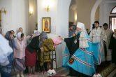 6 июля. Всенощное бдение в храме в честь великомученика и целителя Пантелеимона г. Нижневартовск.