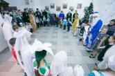 4 января. Поздравление сотрудников епархиального управления с гражданским Новолетием и грядущим Рождеством Христовым.