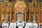 7 января. Архиерейское служение в праздник Рождества Христова, Воскресенский кафедральный собор г. Ханты-Мансийск.