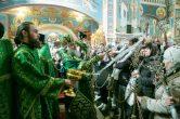 9 апреля. Праздник Входа Господня в Иерусалим, Воскресенский кафедральный собор г. Ханты-Мансийск.