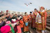 22 апреля. Архипастырский визит в п. Излучинск, Нижневартовского района.