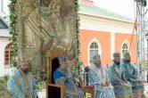 9 июля. Митрополит Павел принял участие в праздновании Тихвинской иконы Божией Матери в Успенско-Богородичном монастыре Тихвина.