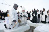 19 января. Великое освящение воды на р. Иртыш