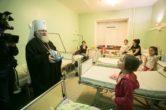 10 января. Поздравление с наступившим Рождеством Христовым пациентов Сургутской клинической травматологической больницы