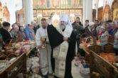 7 апреля.15 апреля. Традиционное посещение митрополитом Павлом храмов г. Ханты-Мансийска в Великую субботу