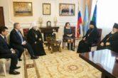 23 января. Встреча с губернатором Ханты-Мансийского автономного округа-Югры Н.В. Комаровой