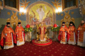 8 апреля. Архипастырское служение в праздник Светлого Христова Воскресения, Воскресенский кафедральный собор г. Ханты-Мансийск