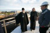 22 сентября. Митрополит Павел посетил строящийся Свято-Троицкий кафедральный собор г. Сургута