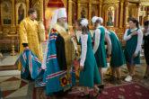 1 сентября. Молебен на начало нового учебного года в Воскресенском кафедральном соборе г. Ханты-Мансийска