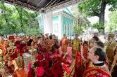 17-19 мая. Участие в торжествах по случаю 20-летия учреждения Астанайской и Алматинской епархии