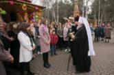 21 мая. Благословение выпускников школ п. Белый Яр, Сургутского района.