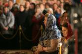 28 апреля. Архипастырское служение в праздник Светлого Христова Воскресения, Воскресенский кафедральный собор г. Ханты-Мансийск