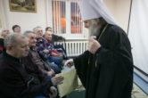 8 января. Поздравление с Рождеством Христовым пациентов «Специального дома для одиноких престарелых» г. Нефтеюганска
