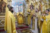 1 ноября. Божественная литургия в кафедральном соборе святого равноапостольного князя Владимира г. Сочи