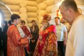 23 мая. Малое освящение храма в честь святителя Спиридона Тримифунтского в д. Челтымово Сургутского района
