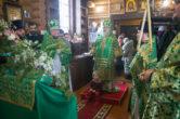 2 февраля. Престольный день храма в честь святого преподобного Евфимия Великого д. Шапша, Ханты-Мансийского района