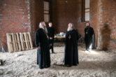 24 мая. Посещение строящегося храма в честь мучеников Леонида и Татианы г. Нефтеюганска