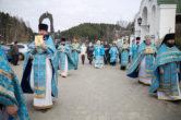 14 октября. 20 – летний юбилей со дня Великого освящения храма в честь Покрова Пресвятой Богородицы г. Ханты-Мансийска