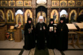 6 марта. Монашеский постриг насельниц женского монастыря в честь иконы Божией Матери «Умиление» г. Сургута