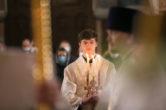 19 апреля. Архипастырское служение в праздник Светлого Христова Воскресения, Воскресенский кафедральный собор г. Ханты-Мансийск