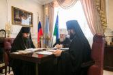 25 марта. Заседание Архиерейского совета Ханты‐Мансийской митрополии