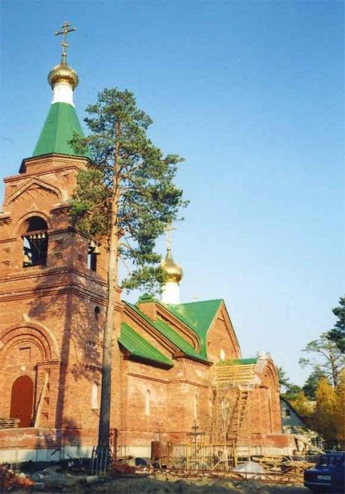 Храм во имя святого праведного Симеона Верхотурского п. Барсово