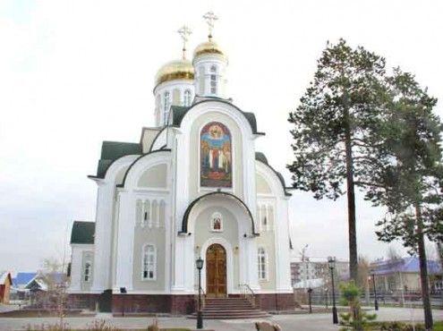 Храм святого Серафима Саровского г. Белоярский