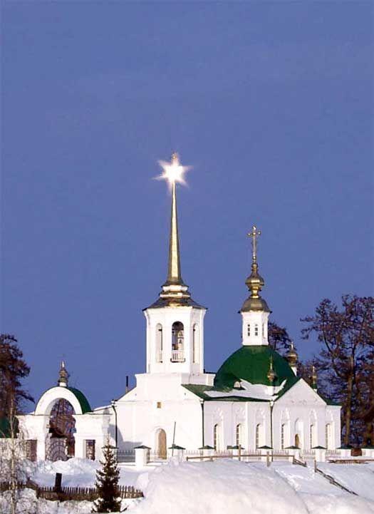 Храм Рождества Пресвятой Богородицы п. Березово