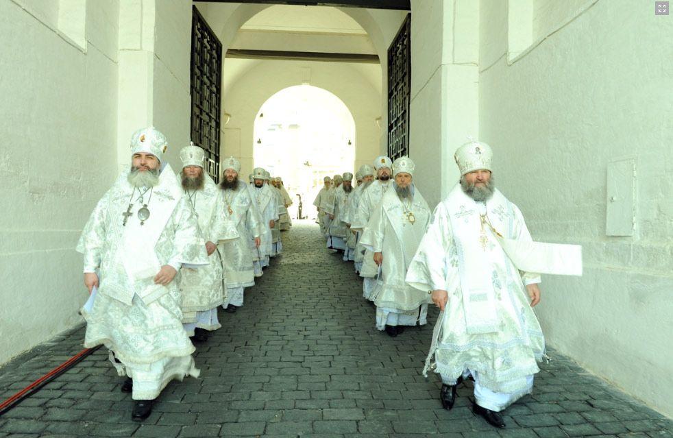 Епископ Ханты-Мансийский и Сургутский Павел сослужил Святейшему Патриарху Кириллу и Блаженнейшему Архиепископу Афинскому и всей Эллады Иерониму