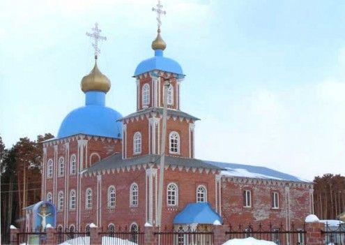 Храм во имя святого великомученика Феодора Стратилата п. Федоровский