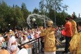 Епископ Ханты-Мансийский и Сургутский Павел совершил богослужение в храме в честь Святителя Луки Войно-Ясенецкого при травматологическом центре города Сургута
